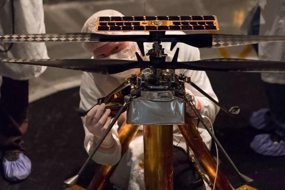 Mars Ingenuity helicopter 2