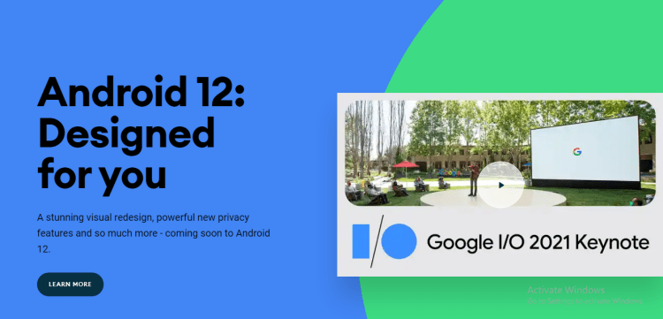 Android 12 released