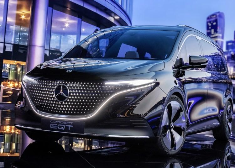 Mercedes Benz Concept EQT design aesthetics