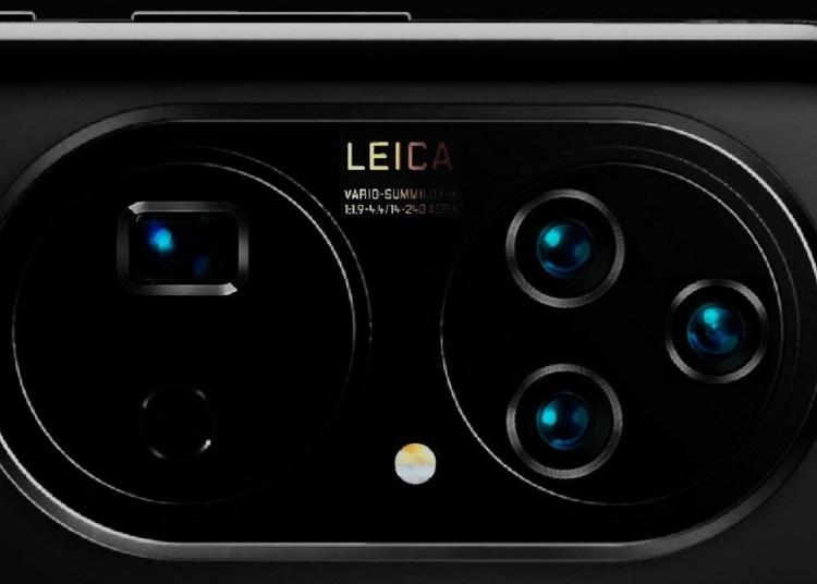 P50 Pro camera render