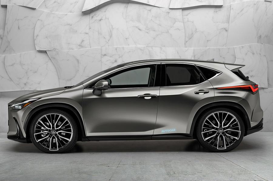 The Lexus CT render