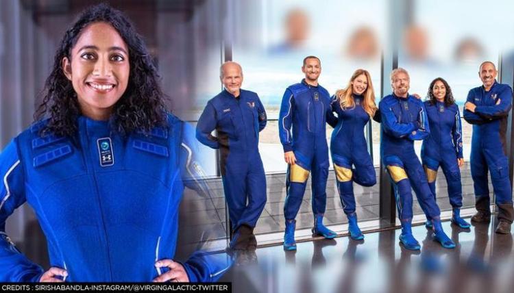 Sirisha Bandla second indian woman in space