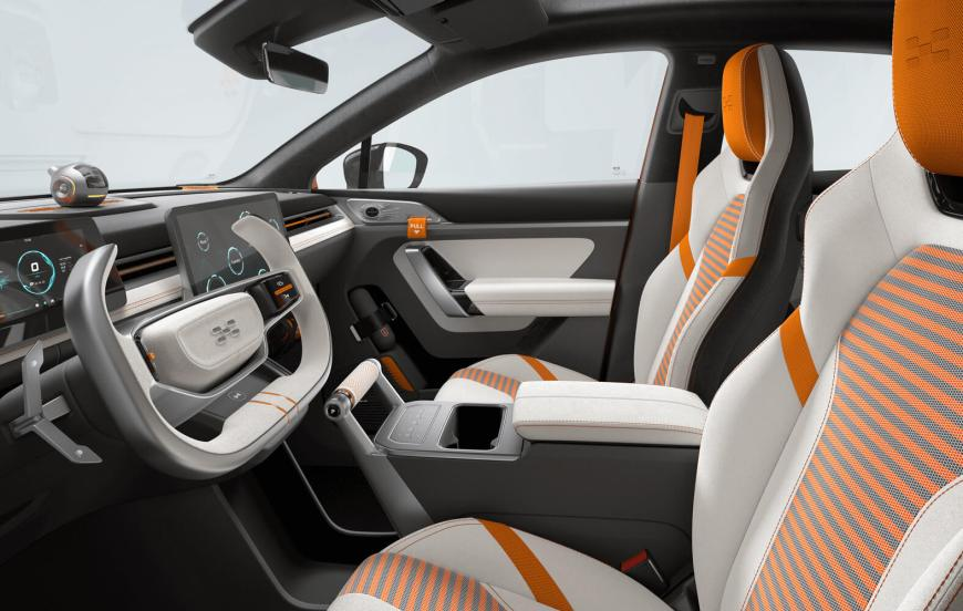 AIWays U6 Ion front seats