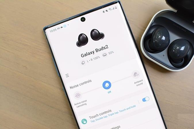 Galaxy Buds 2 Bluetooth pairing