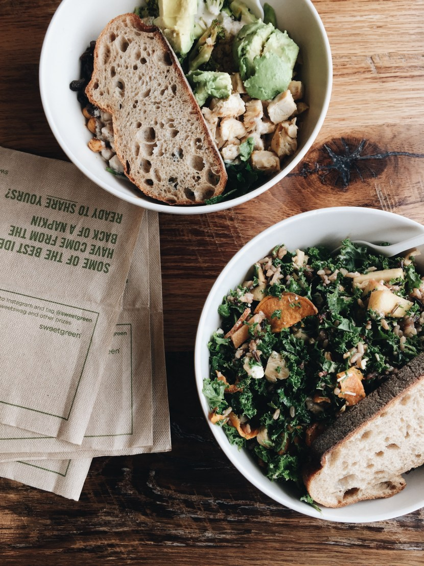 sweetgreen - april favourites | brunch at audrey's