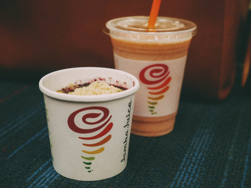 jamba juice en route to mountain view | brunch at audrey's