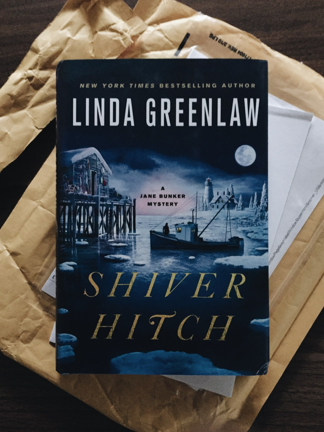 shiver hitch by linda greenlaw - book review | brunch at audrey's