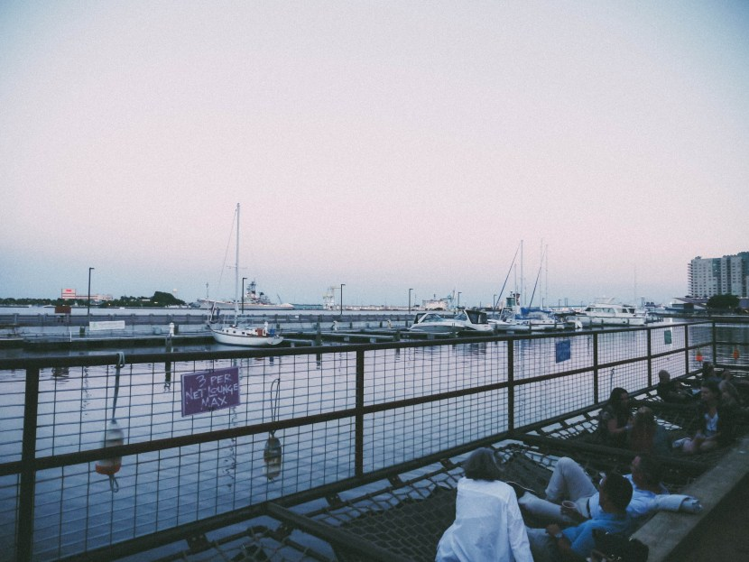 waterfront sessions, spruce street harbor park, philly | brunch at audrey's