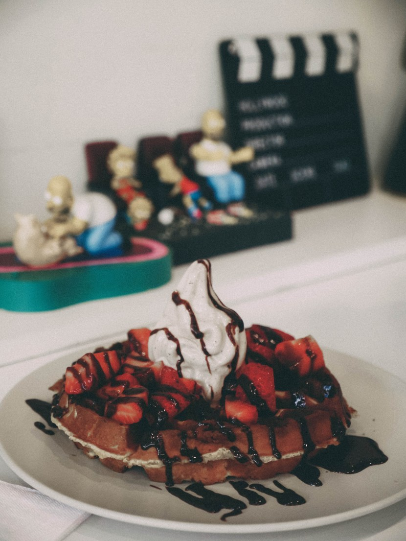 happily ever after dessert cafe - june lately | brunch at audrey's