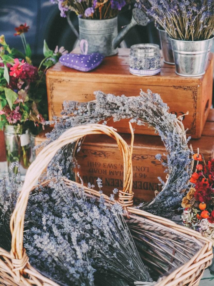 basket of lavender - weekly update | brunch at audrey's