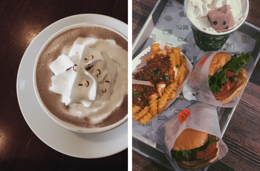 gryphon cafe, shake shack - november lately | brunch at audrey's