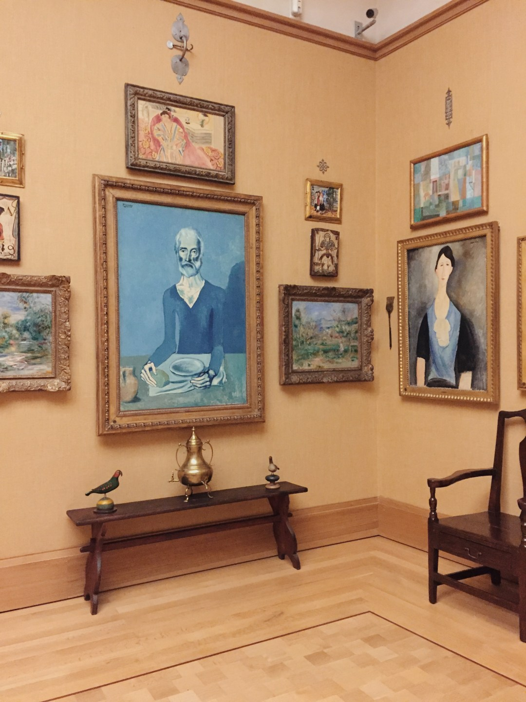 picasso, barnes foundation museum - december lately | brunch at audrey's