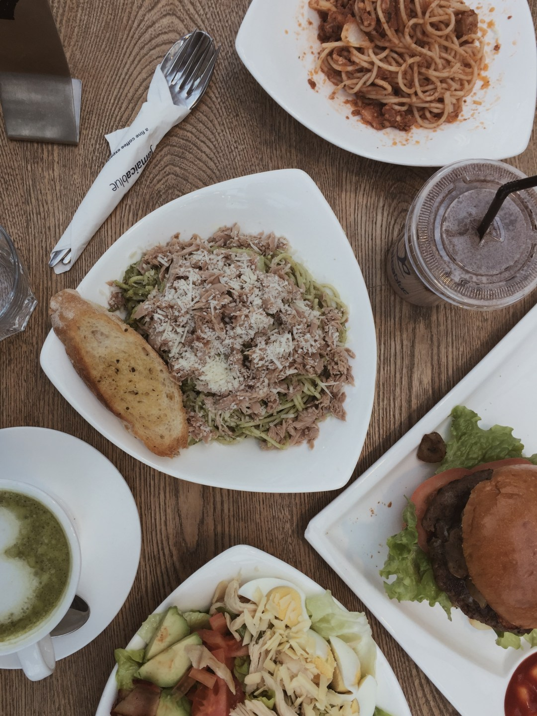 brunch at jamaica blue - weekly update | brunch at audrey's