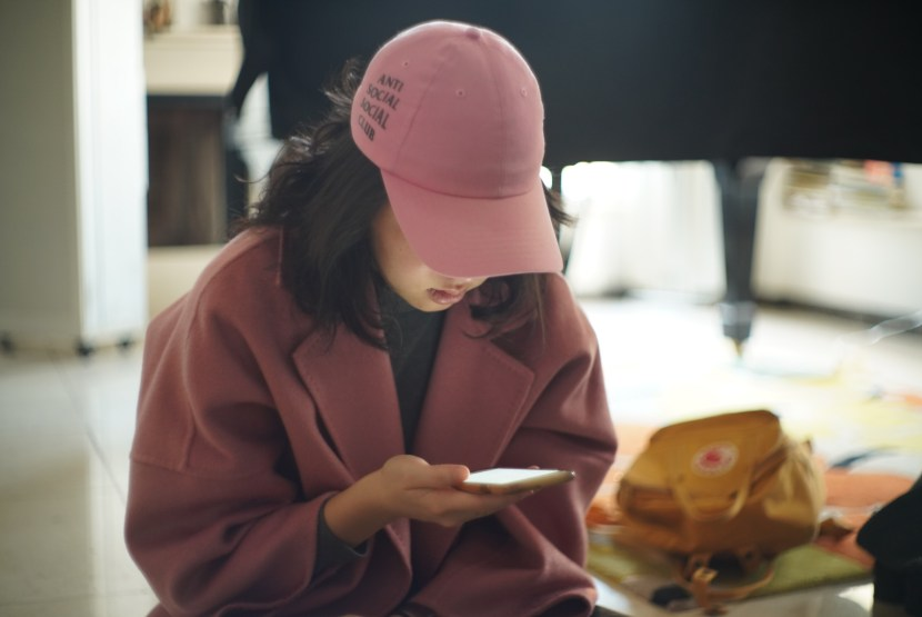 pink outfit - january lately | brunch at audrey's