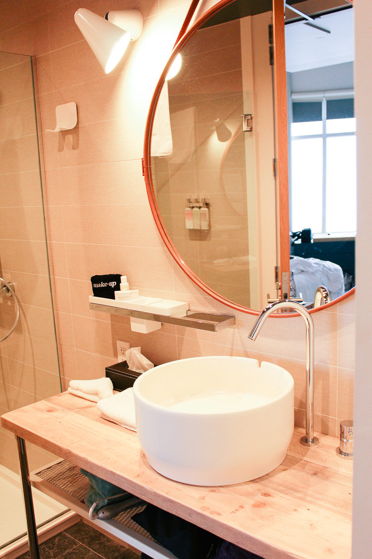 Amazing in-room amenities at the 250 Main Hotel in Rockland, Maine