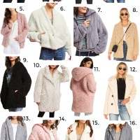 The Best Teddy Bear Coats + Hoodies to Keep You Warm All Fall + Winter