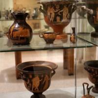 Il mito di Dioniso ed Arianna su di un vaso a figure rosse del Museo Provinciale di Brindisi