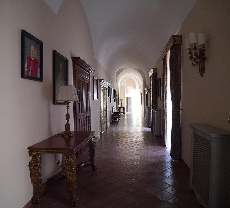 Episcopio - Galleria degli Arcivescovi