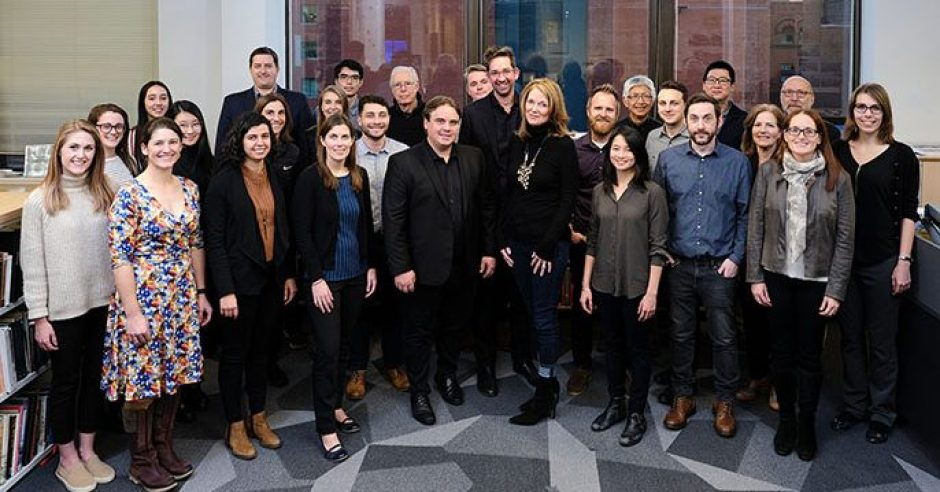 group photo of employees