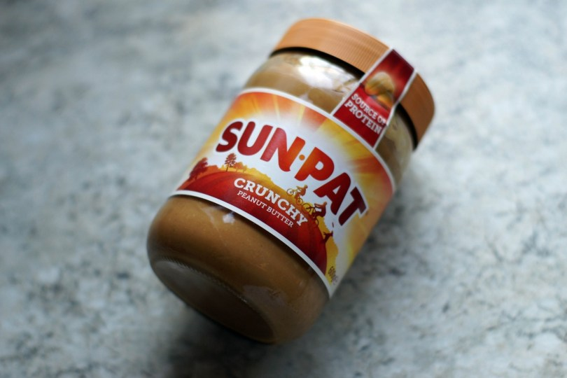 Jar of Sun-Pat peanut butter