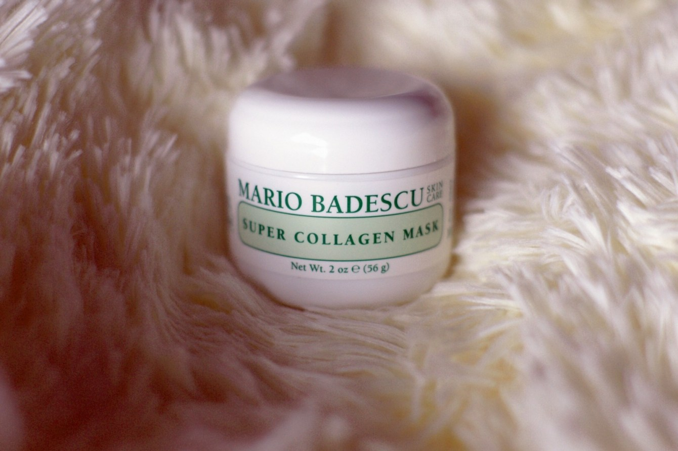 Brunette on Demand Mario Badescu Glycolic Eye Cream Review plus Collagen Mask