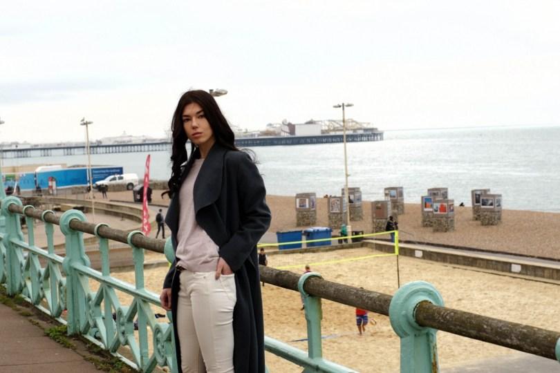 Brunette on Demand Brighton Pier South East Adventures