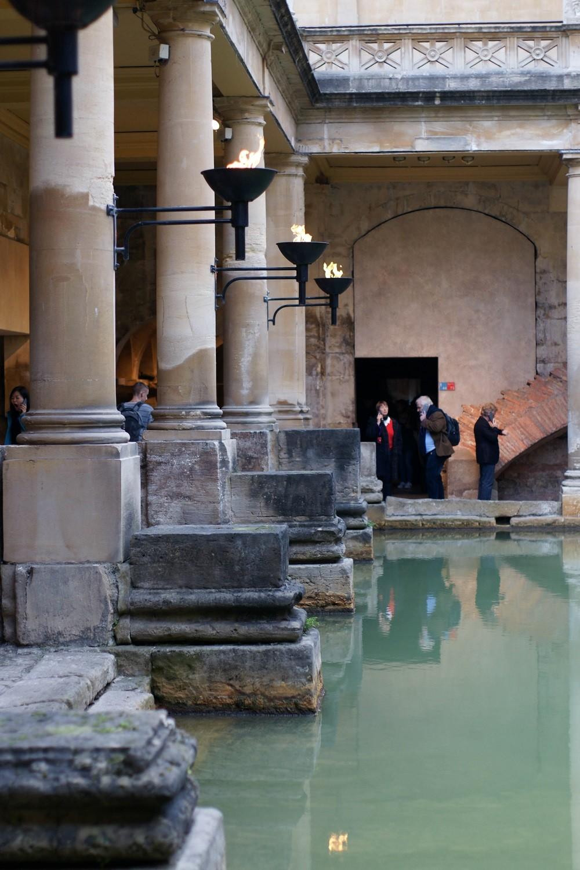 Brunette on Demand South West Adventures Roman Baths