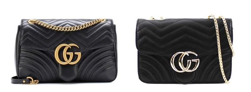 Gucci Marmont Medium Bag and Gucci Bag Dupes
