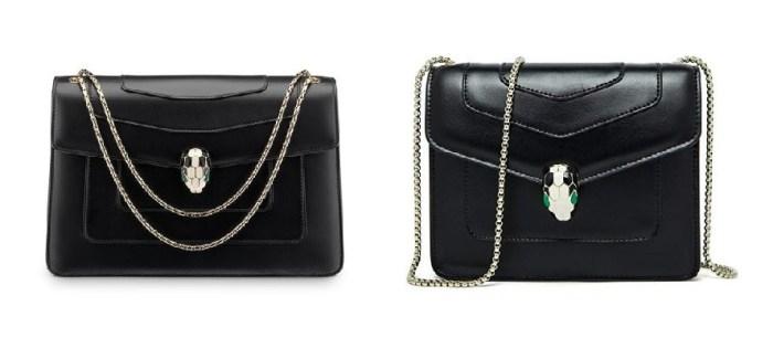 Bulgari Black Serpenti Bag & Bulgari Serpenti Bags Dupes