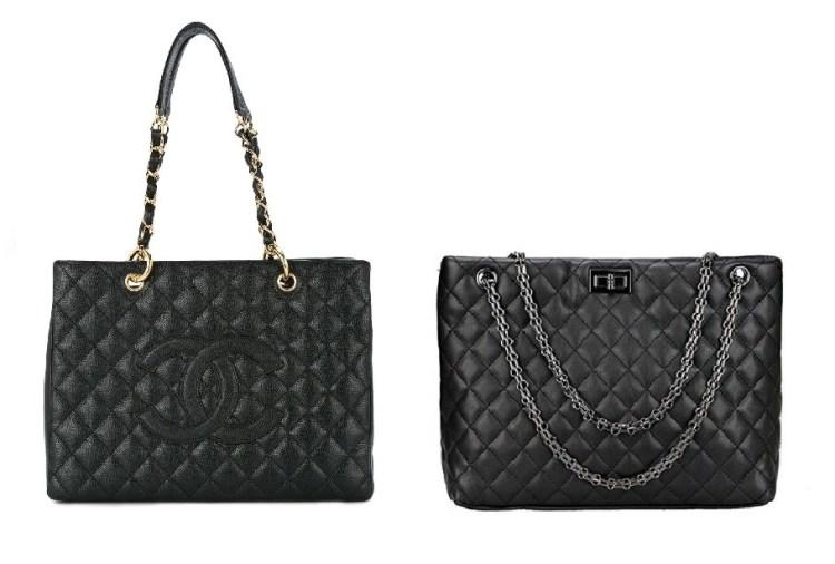 Chanel Vintage Shoulder Bag and Chanel Look Alike Bags
