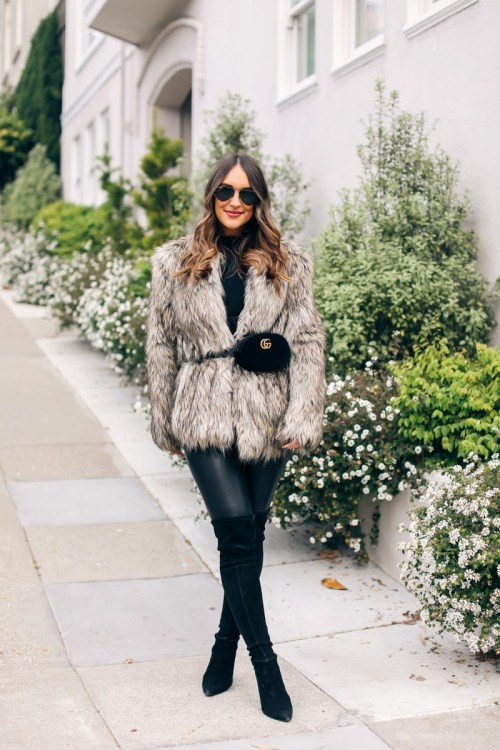 20 Trendy Winter Outfit Ideas To Keep You Warm - 06