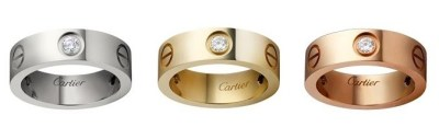 Cartier Love Diamond Rings - Cartier Dupes