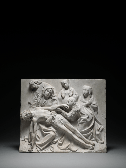 Relief of the Lamentation Upper Rhine Valley, likely Colmar c. 1470-80