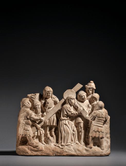 Christ on the road to Calvary Netherlands, Utrecht c. 1440