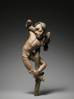 Dismas and Gestas, from an altarpiece of the Crucifixion Southern Germany c. 1520