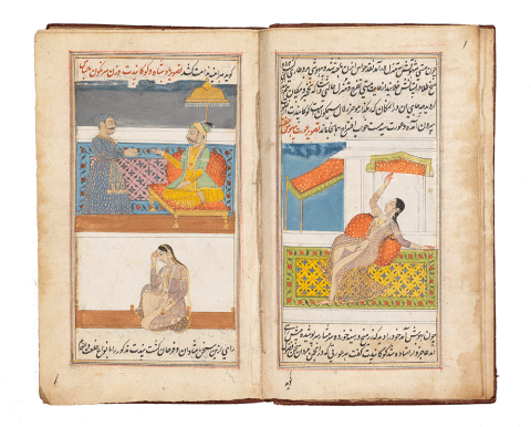 Lazzat al-Nisa', 'The Pleasures of Women' Central India, Hyderabad, 1783