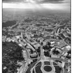Pohled na Mendlovo náměstí a staré Brno