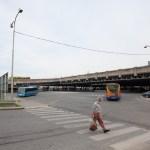 Těleso nádraží z Plotní ulice