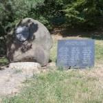 Park Marie Restituty - památník.