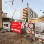 Výstavba garáží na Panenské