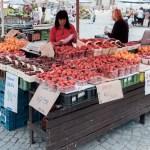 Prodejce jahod