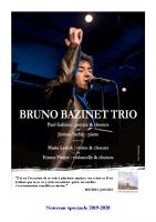 Bruno Bazinet – Concert_TRIO_