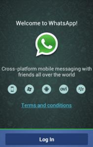 Non usare WhatsApp