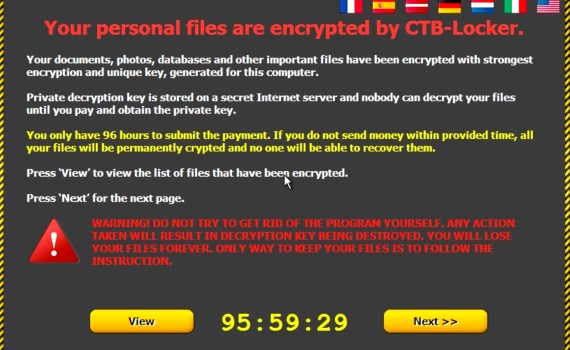 Cryptolocker Windows 10