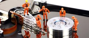 hard disk rotto