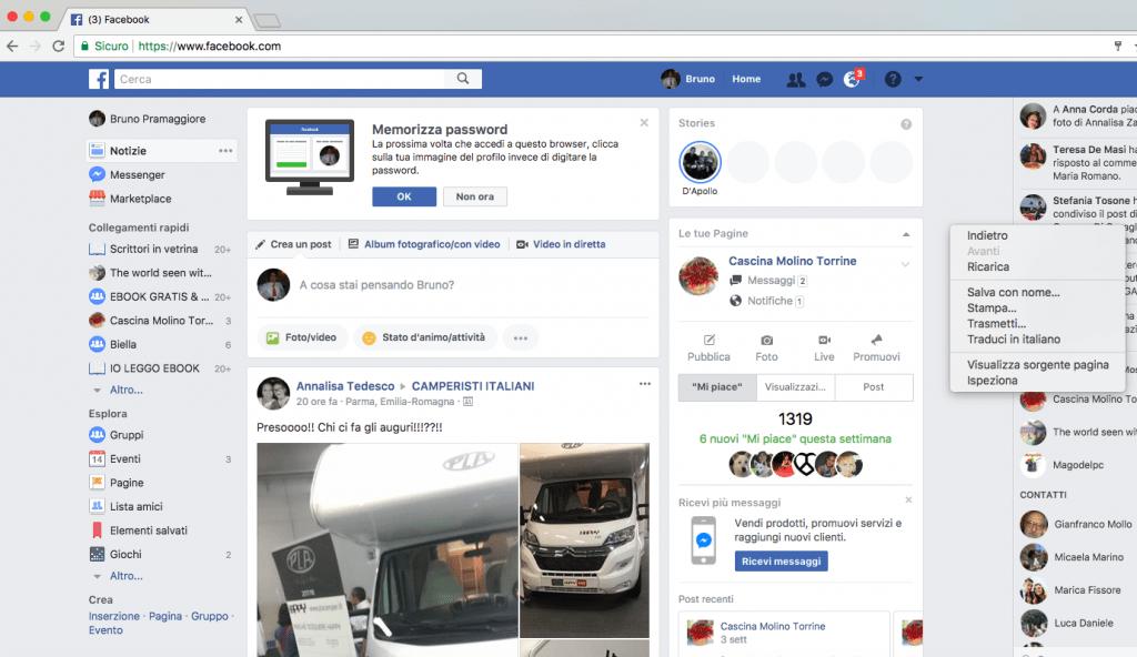Facebook chi visita il profilo1