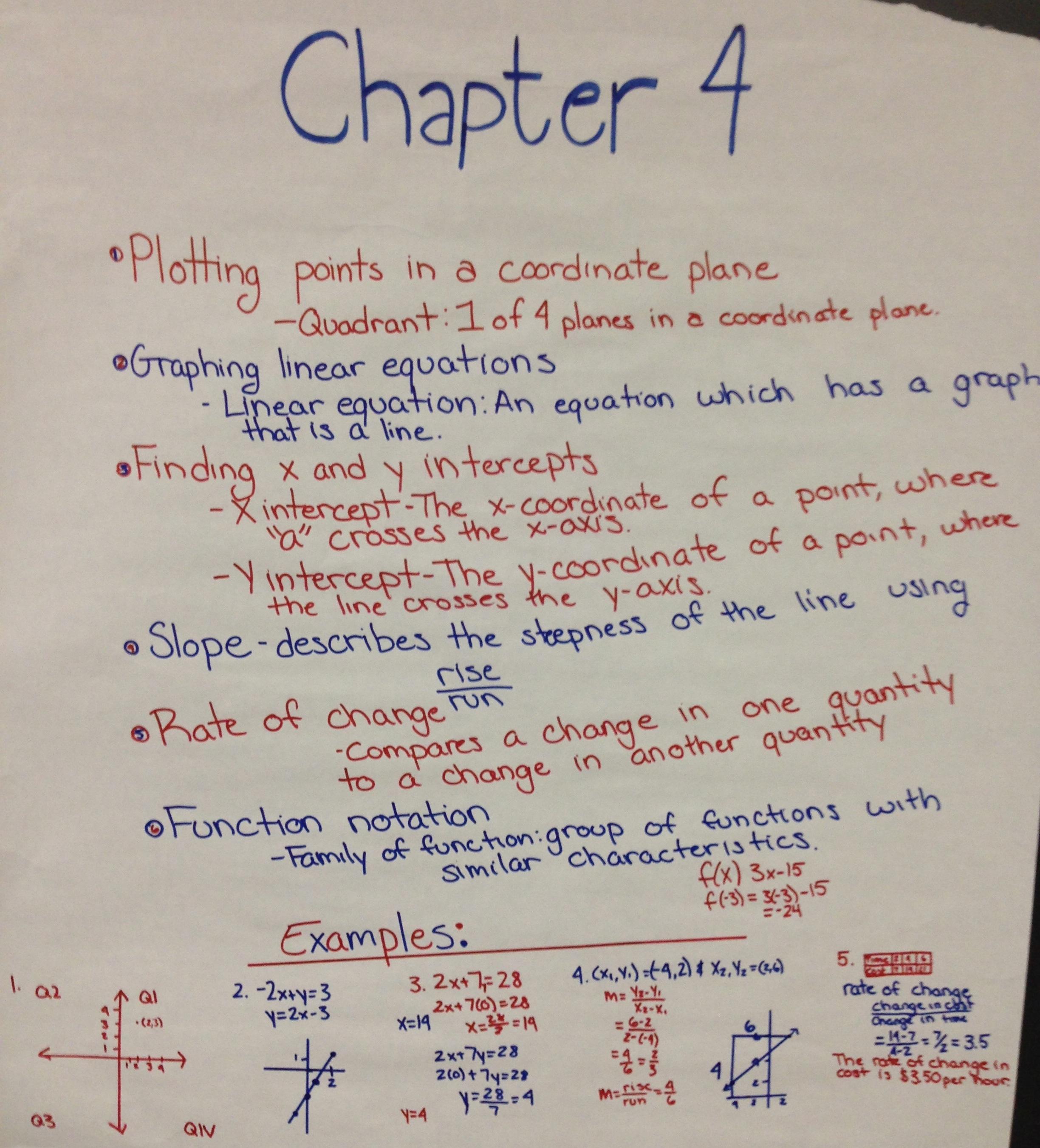 Academic Algebra 1 Midterm Review