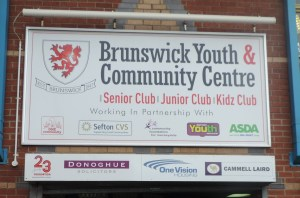 Contact Us at Brunswick Youth and Community Centre in Marsh Lane, Bootle.