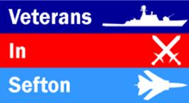 Veterans in Sefton logo.