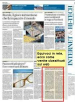 Equivoci in rete, ecco come venite classificati sul web ed in e-mail